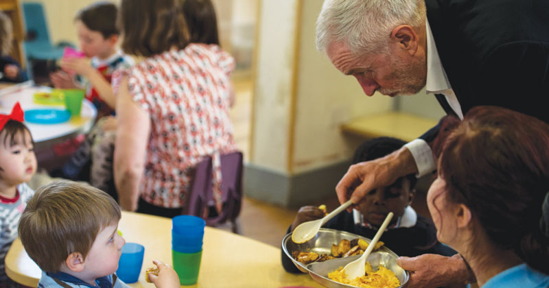 Corbyn fails to dish up evidence on free meals as councils admit there is none