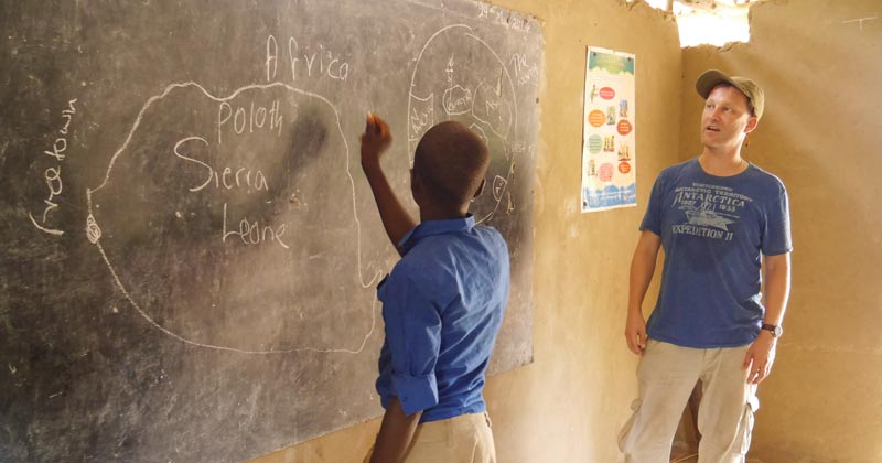 Charity calls for UK teachers to peer mentor in Sierra Leone and Liberia