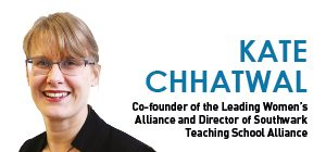 Leadership of school leadership is a white male preserve