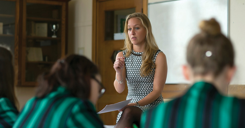 Mentoring scheme supports teachers in girls' schools to go for SLT roles