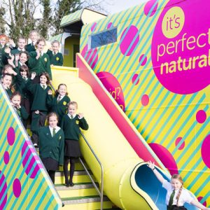 Period education bus gets another vehicle to meet demand from schools