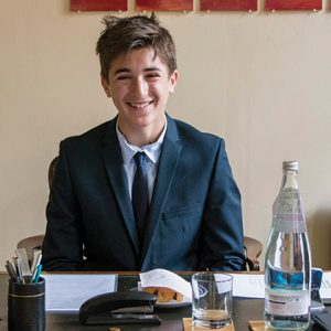 Year 8 pupil spends the day as headteacher of Highgate School