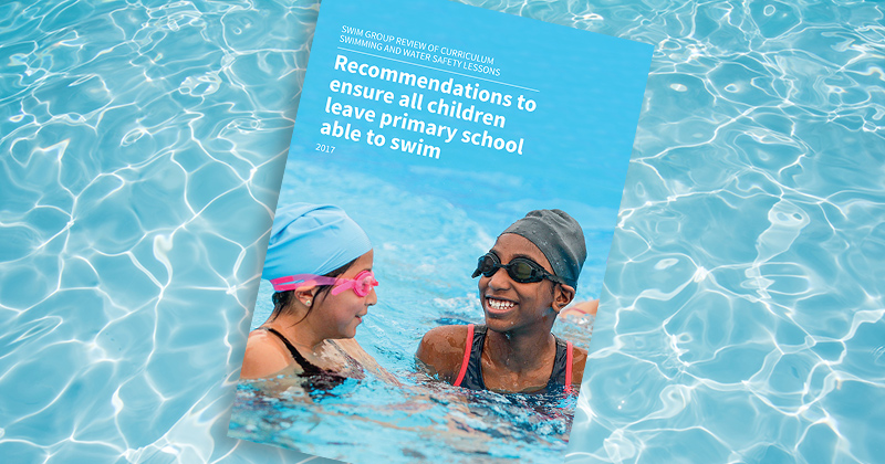 Nearly a third of pupils leave primary school unable to swim