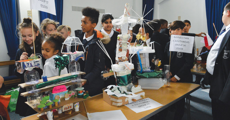 STEM challenge gets schoolchildren building their own cities