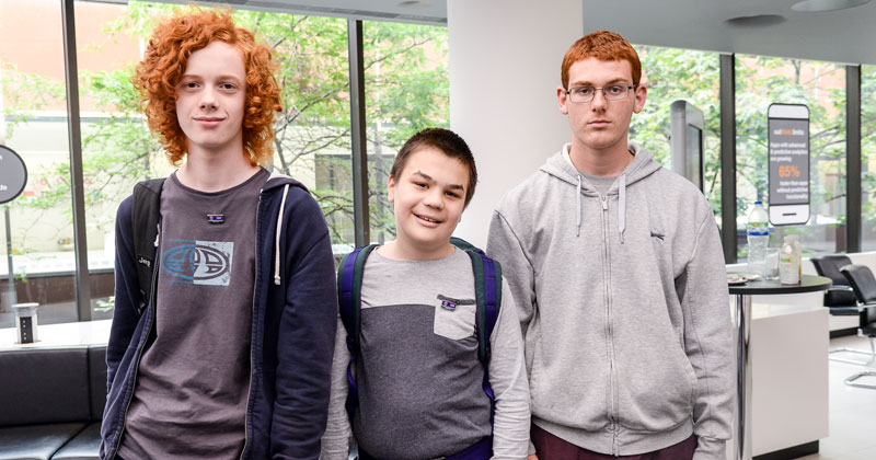 Trio win £10,000 for invention that communicates emotions of users with autism