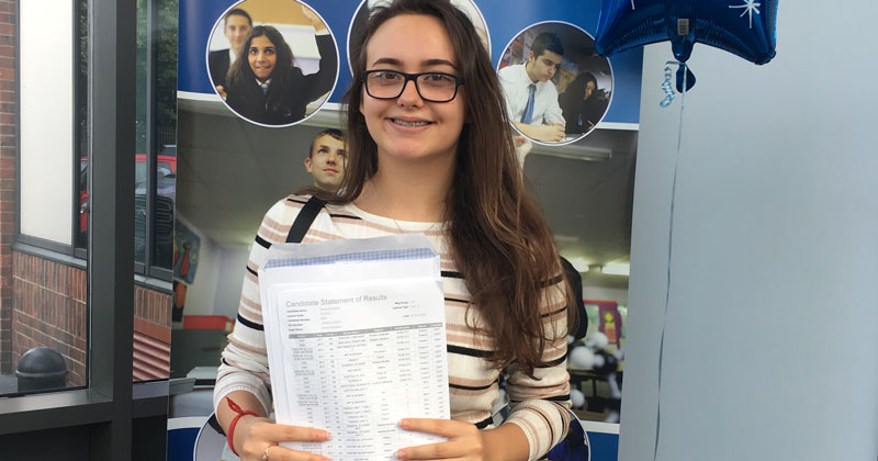 Student who spoke no English in year 7 excels in language and literature GCSEs