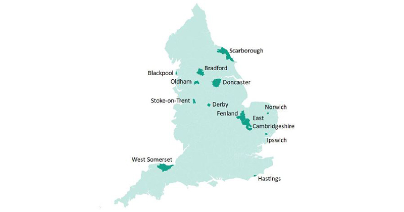 Opportunity areas exclude regions where attainment gap grows fastest, EPI finds