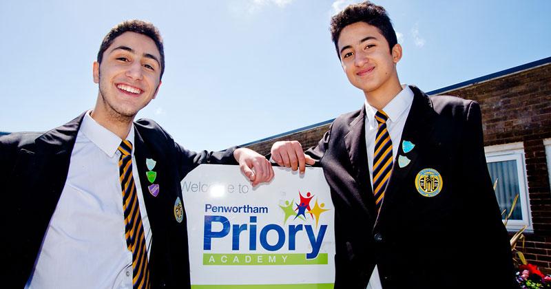 Preston twins begin their journey into medicine