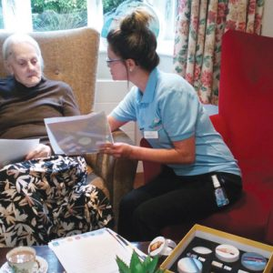 School partners with local care homes to launch pen pal scheme