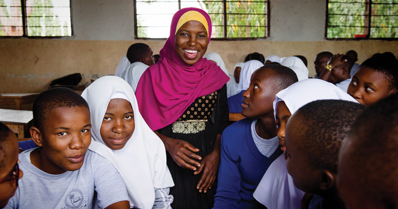 UK project helping pupils develop life skills in Tanzania wins global recognition