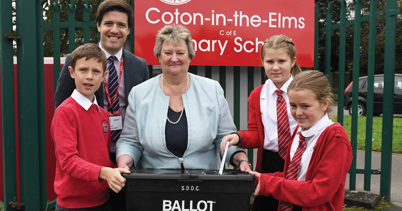 Primary appoints pupil prime minister and cabinet to help with school improvement journey
