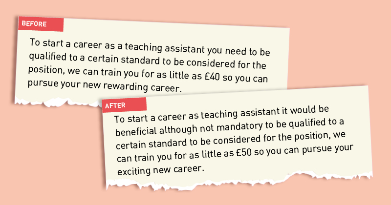 how schools week complained about a job advert and uncovered a strange situation