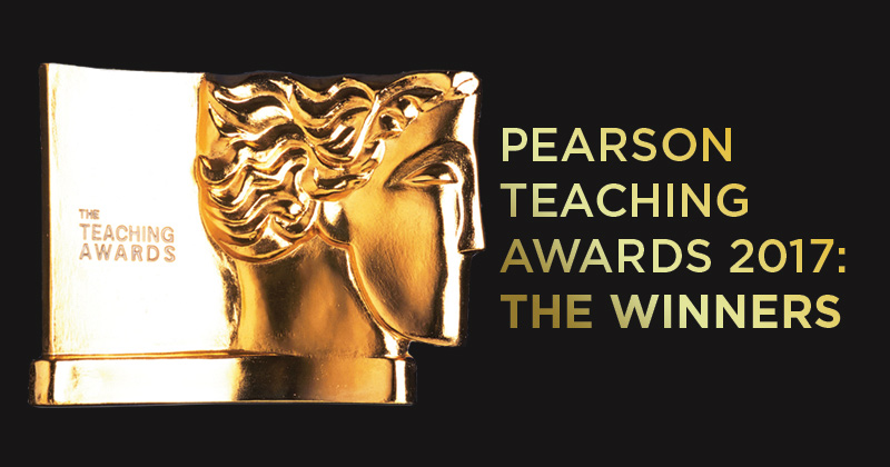 Revealed: The winners of the 2017 Pearson Teaching Awards
