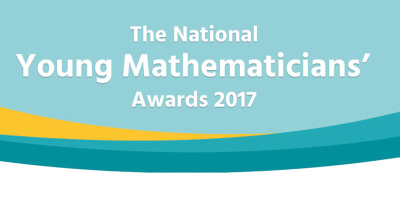 Last call for entries into the National Young Mathematicians' Awards 2017