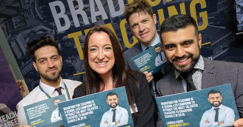Bradford teachers spearhead teacher recruitment campaign in the area