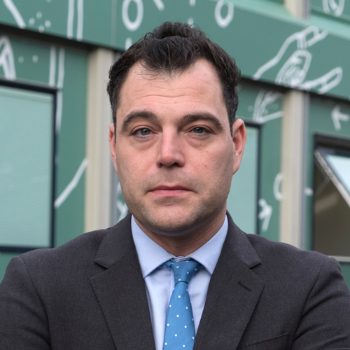 David Benson, Principal, Kensington Aldridge Academy