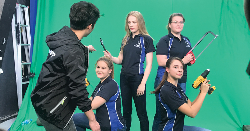 Essex pupils are first-ever all-girl team to compete in international robot fighting competition