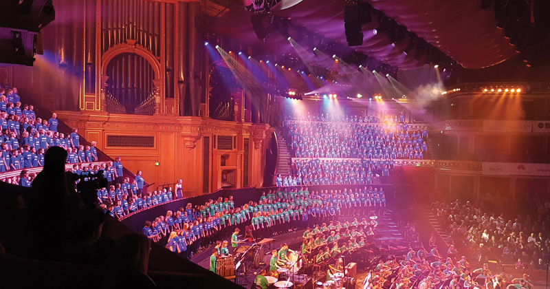 3,000 pupils perform at the Royal Albert Hall as part of Music for Youth Proms 2017