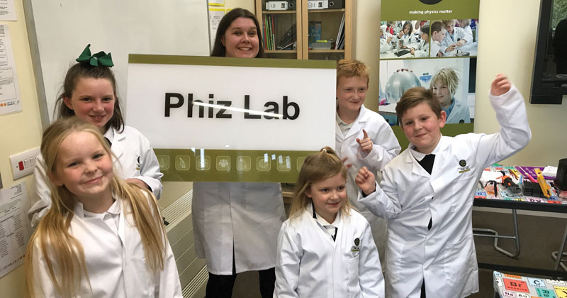 Education charity pays for brand new science lab at Nottingham primary