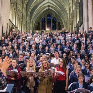 1,000 United Learning pupils perform new carol at Southwark Cathedral and the Royal Northern College of Music