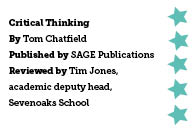 Critical Thinking, by Tom Chatfield