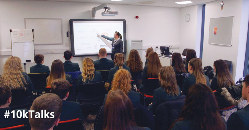 Schools encouraged to invite apprentices in for National Apprenticeship Week