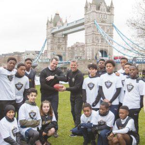 NFL team kicks off UK university scholarship scheme