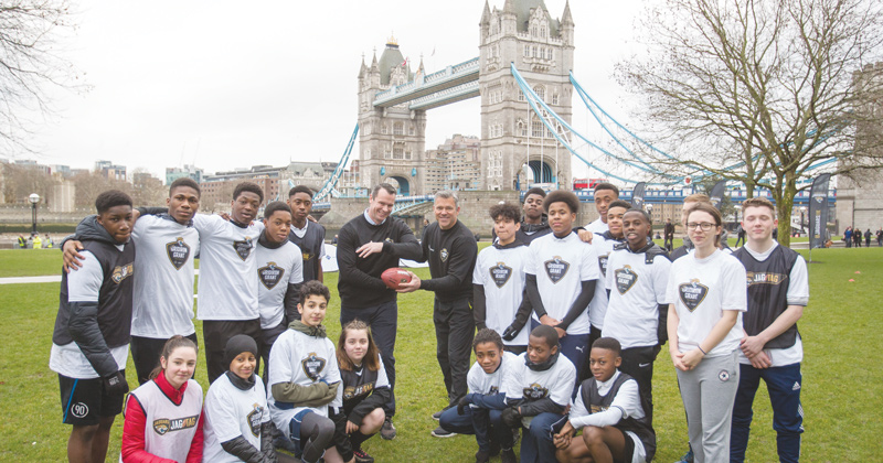 NFL team kicks off UK university scholarship scheme