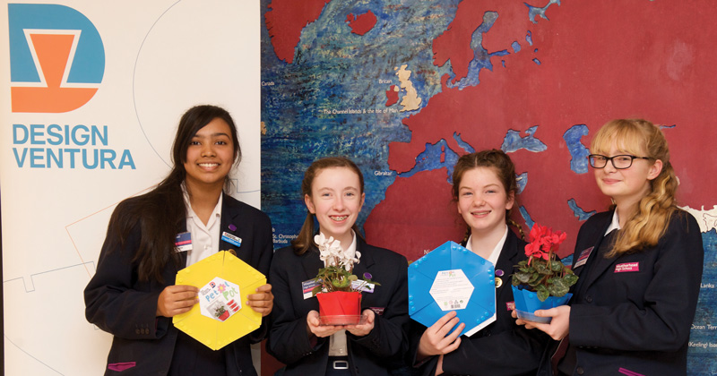 School STEM club wins national design competition with expanding plant pot