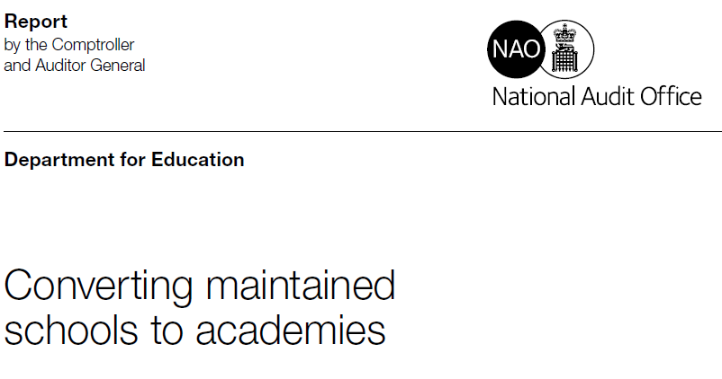 National Audit Office academies report: The key findings