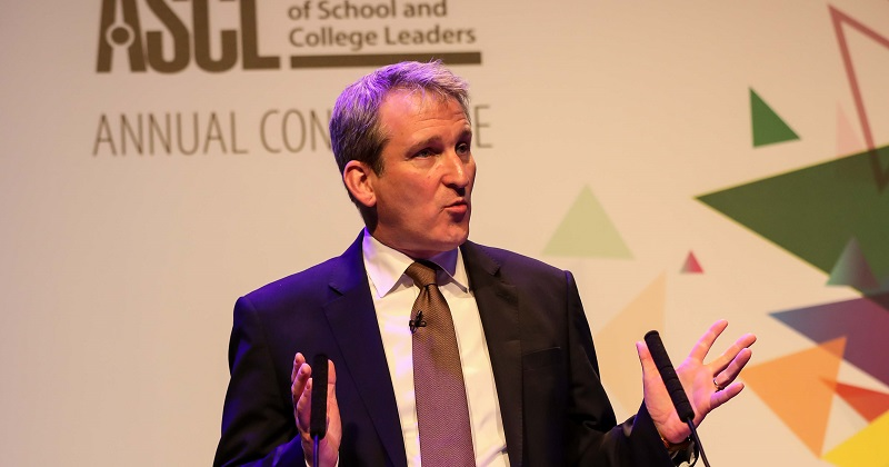 Damian Hinds' ASCL 2018 conference speech: The full text