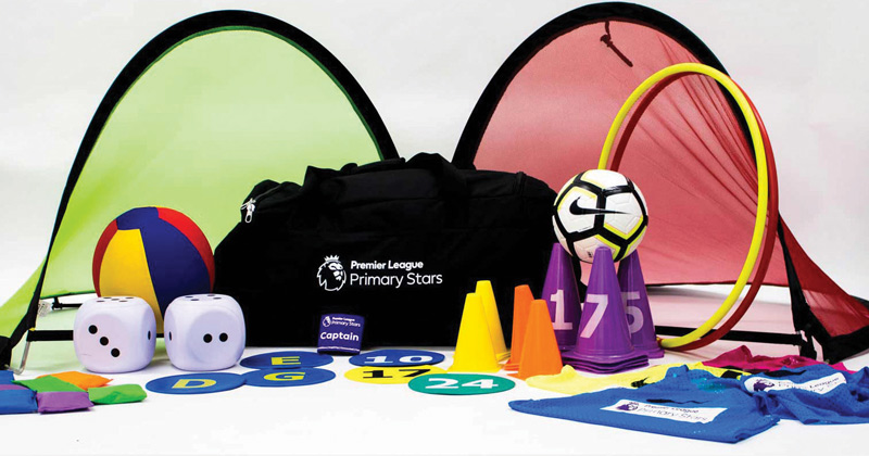 Free football kits offered to primary schools through Premier League Primary Stars scheme