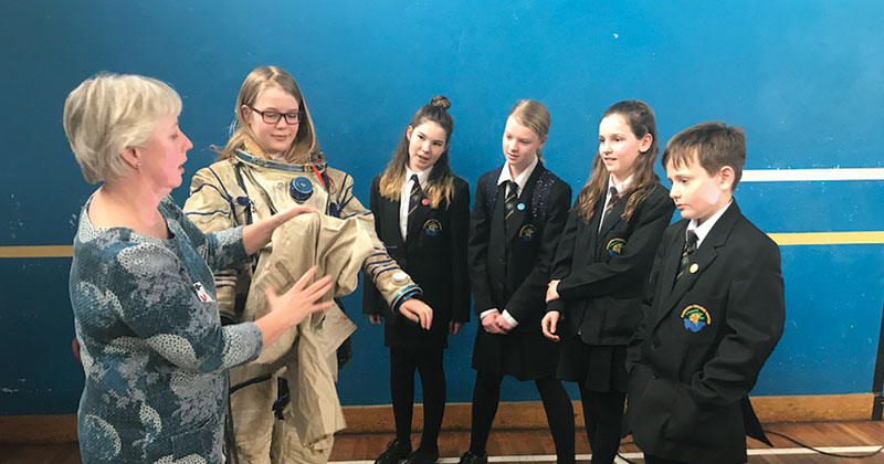 Yorkshire pupils get a taste of the fashion industry with Burberry