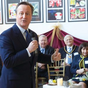 David Cameron launches new site for specialist epilepsy school