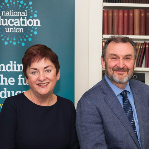 Mary Bousted and Kevin Courtney, Joint general secretaries of the National Education Union