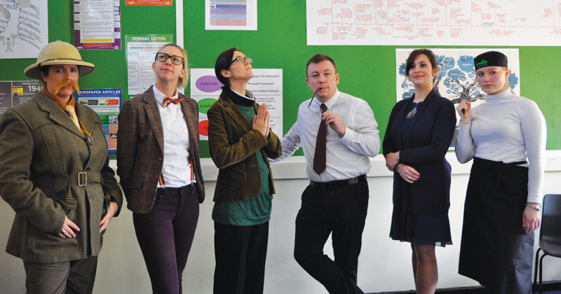 English department runs interactive Cluedo game as revision technique