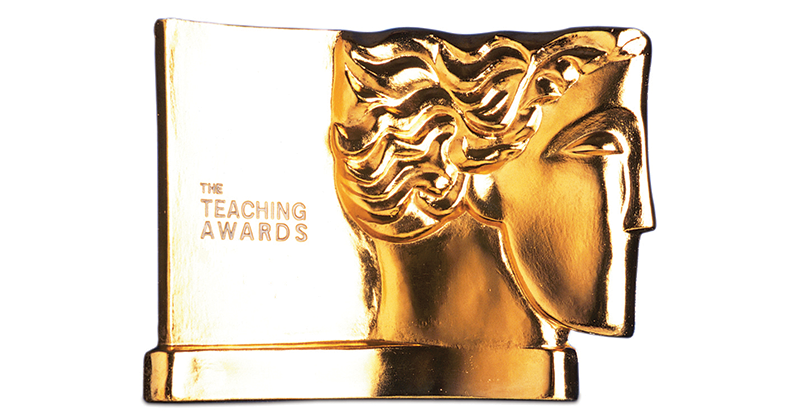 65 winners scoop silver Pearson teaching awards for 2018