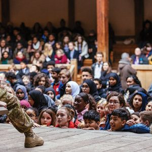 Thousands descend on Shakespeare's Globe for free performances