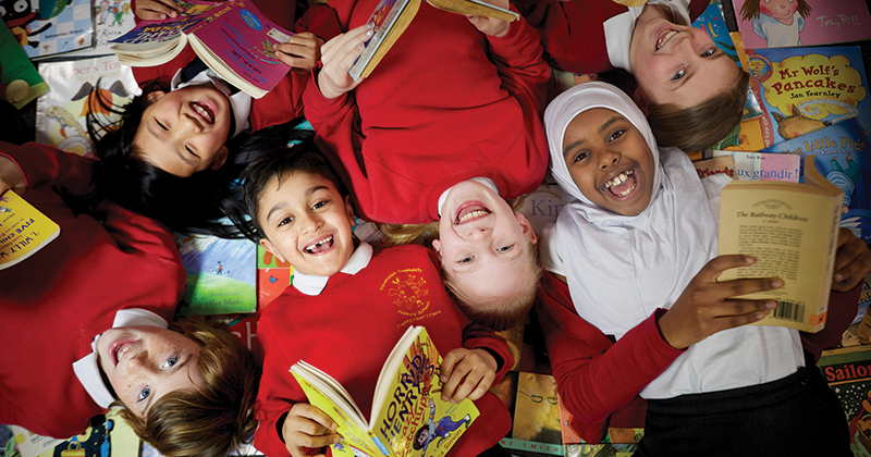 Manchester residents donate their favourite books to disadvantaged pupils