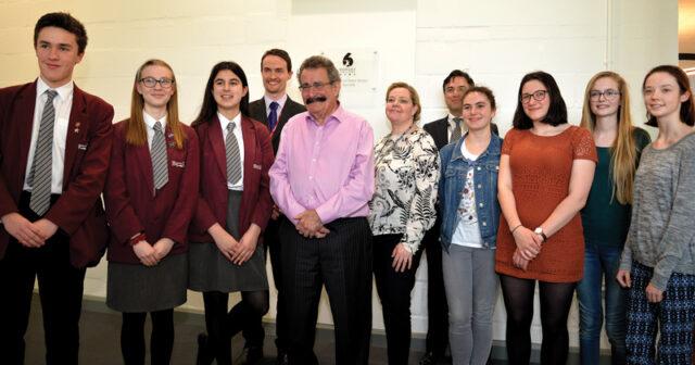 Professor Robert Winston opens Bohunt Education Trust's first-ever sixth-form