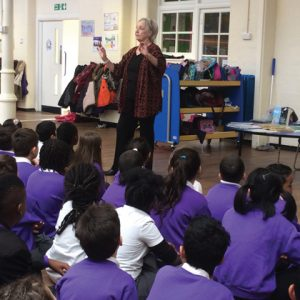 Reading initiative gets authors reading their books to pupils