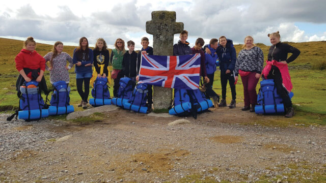 School runs free camping trips to help students prepare for GCSEs