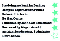It's Doing My Head In: Leading complex organisations with a Palaeolithic brain, by Max Coates