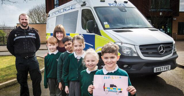 Riot vans named by schoolchildren hit the West Midlands streets