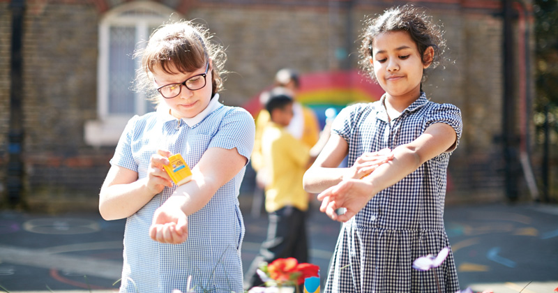 Win £5,000 for your school by promoting sun safety