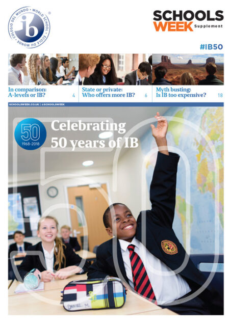 Celebrating 50 years of the International Baccalaureate