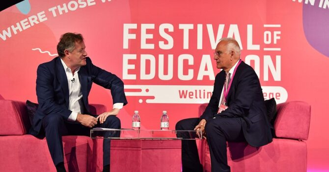 'Not all teachers do their best', and 7 other things Sir Michael Wilshaw said at the Festival of Education