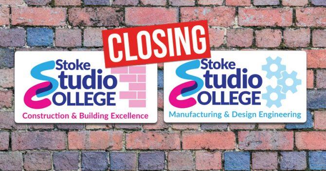 Two Stoke studio schools near their end