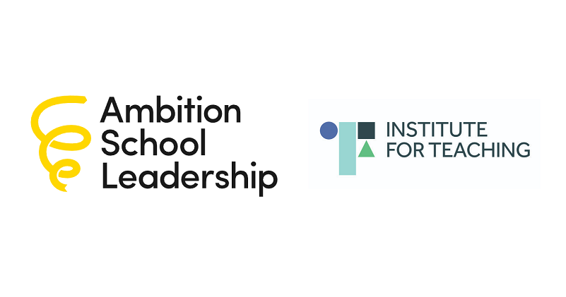Ambition School Leadership and Institute for Teaching to merge into new charity