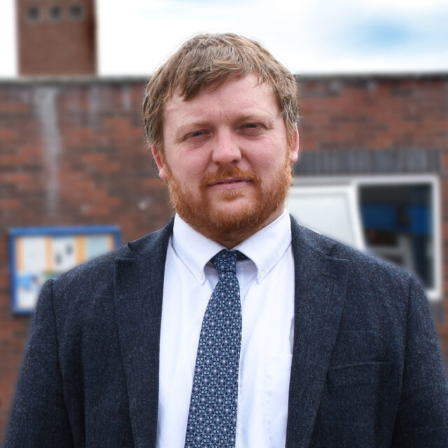 Michael Merrick, Deputy head, St Cuthbert's Catholic Community School